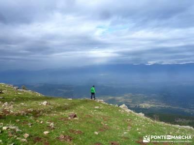 Castillo de Viriato-Sierra San Vicente - El Piélago;club de montaña rutas rascafria